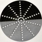 Adomoc black acrylic laser-cut board