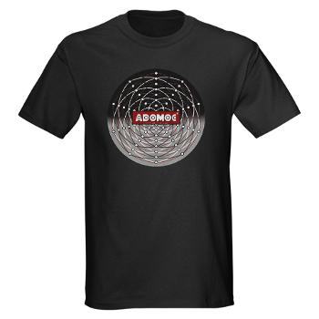Men's T-Shirt with the Official Adomoc Game Board Design