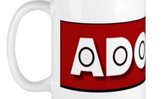 Mug with the Official Adomoc International Logo