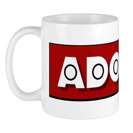 Mug with the Official Adomoc International Logo